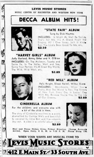 March 9, 1946 DECCA ALBUM HITS Democrat_and_Chronicle (Rochester NY)