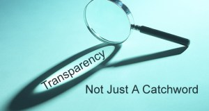 Transparency is good!