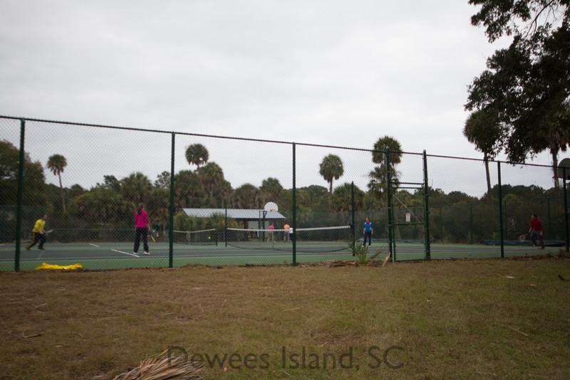 Dewees Island Tennis courts