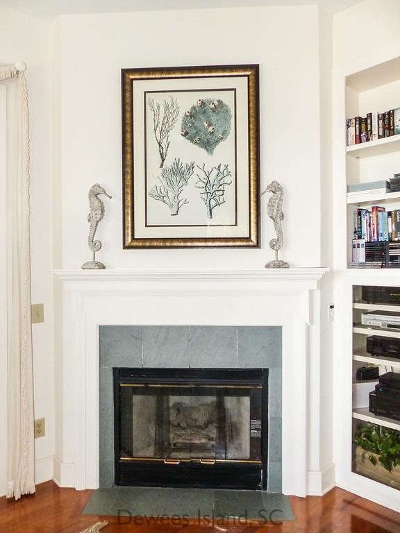 239 Pelican fireplace
