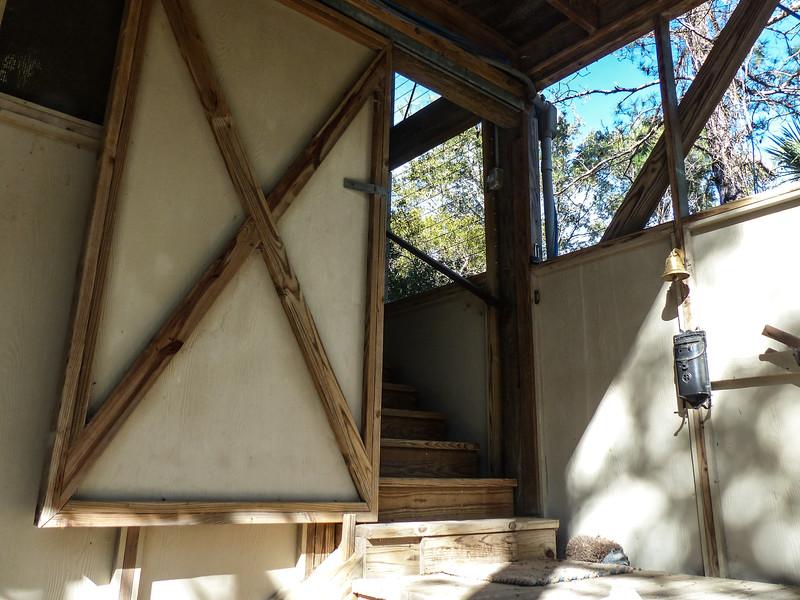 sliding barn door small house
