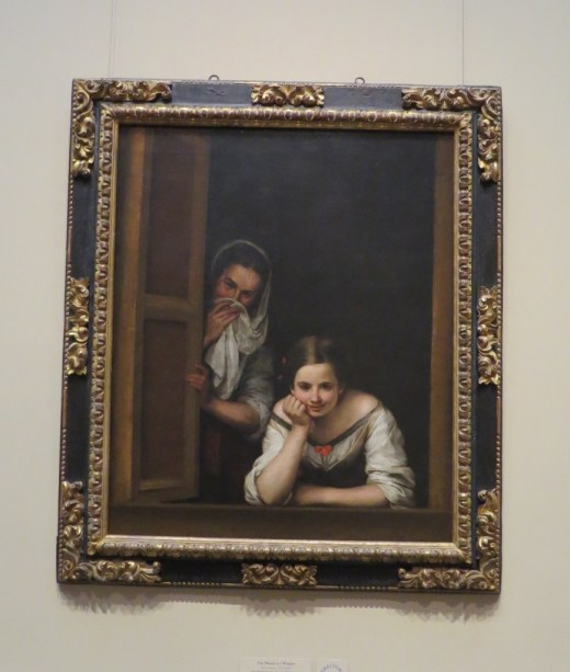 Two Women at a Window by Balthasar Gerbier