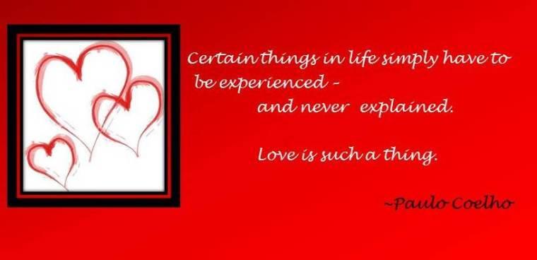 Coelho Love quote