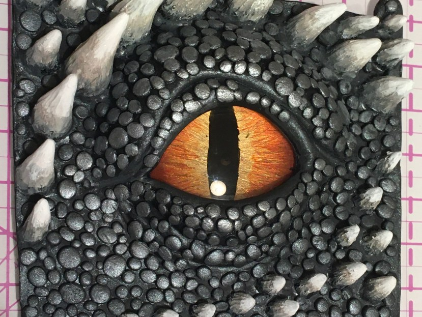 Dragon eye sculpt and paint