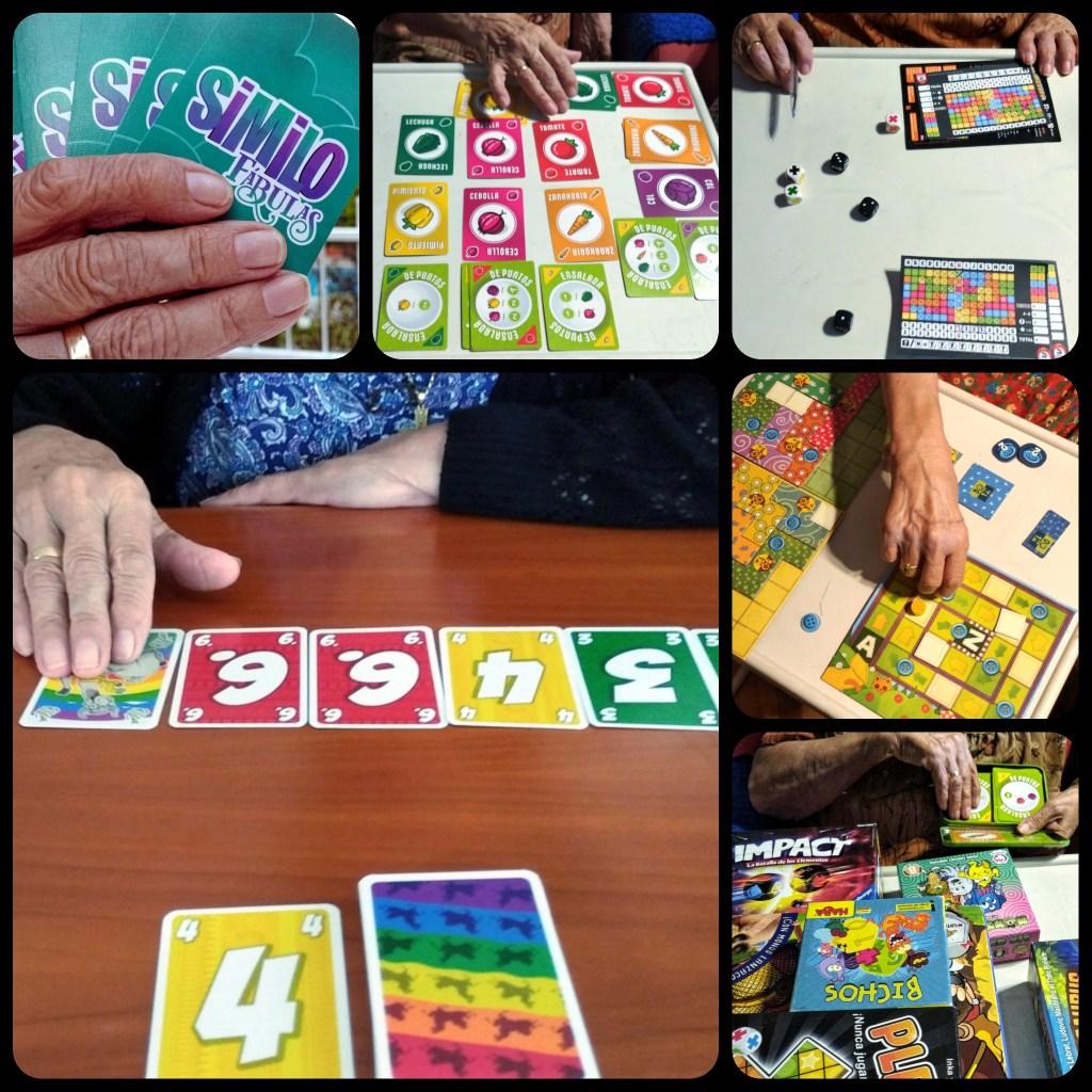 juegos de mesa con los abuelos