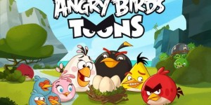 Angry Birds Toons Meet the flock