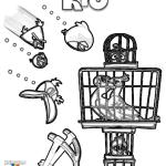 Los Angry Birds liberando a todos los pájaros encerrados