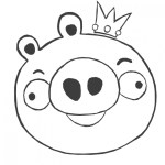 Rey Cerdo sonriendo