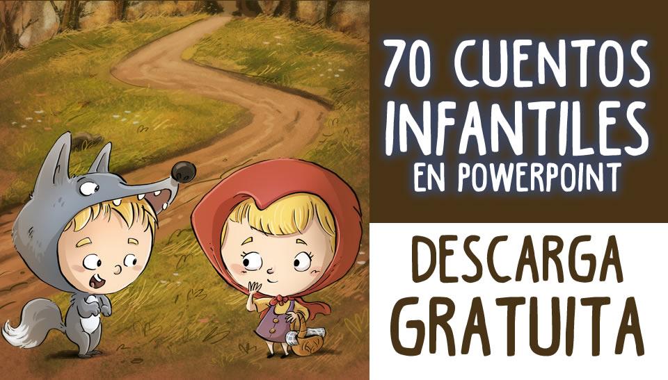 SUPER COLECCIÓN: 70 Cuentos Infantiles En Formato Powerpoint