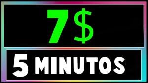 BRUTAL! Cómo Ganar DINERO para PAYPAL 7$ En Minutos Sin INVERTIR💰 (DINERO RAPIDO EN INTERNET)
