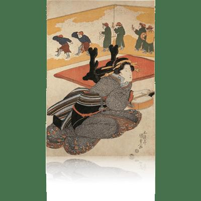 国貞 唐人踊り