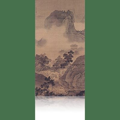 四季山水図(秋) Four Seasons landscape view 雪舟 Sesshu