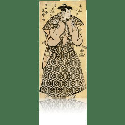 八代森田勘弥の由良兵庫之介信忠 写楽