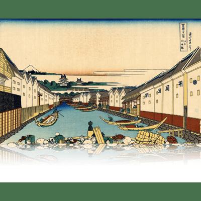 江戸日本橋 えどにほんばし Nihonbashi bridge in Edo. wpfmf3601