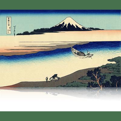 武州玉川 ぶしゅうたまがわ Tama River in Musashi Province. wpfmf3622