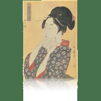 北国五色墨・切の娘 歌麿 jpsutamaro30