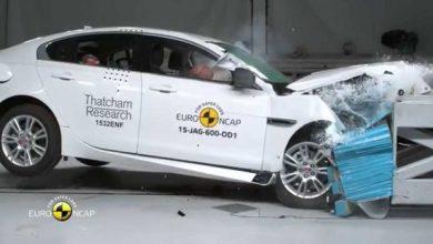 Photo of Jaguar XE/XF: Euro-NCAP-Crashtest (2015)