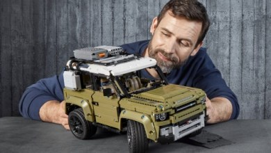 Photo of DER NEUE LAND ROVER DEFENDER ALS LEGO-KIT: