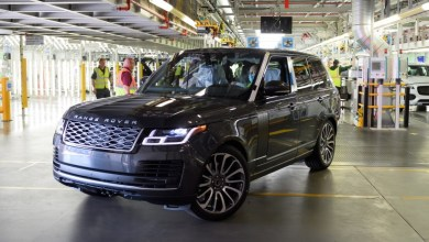 Photo of FIRST RANGE ROVER MADE UNDER SOCIAL DISTANCING MEASURES COMES OFF JAGUAR LAND ROVER'S SOLIHULL PRODUCTION LINE