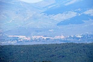 Vista de la Granja - Segovia