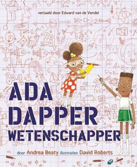 Kinderboekenweek 2021 Thematitel Ada Dapper Wetenschapper