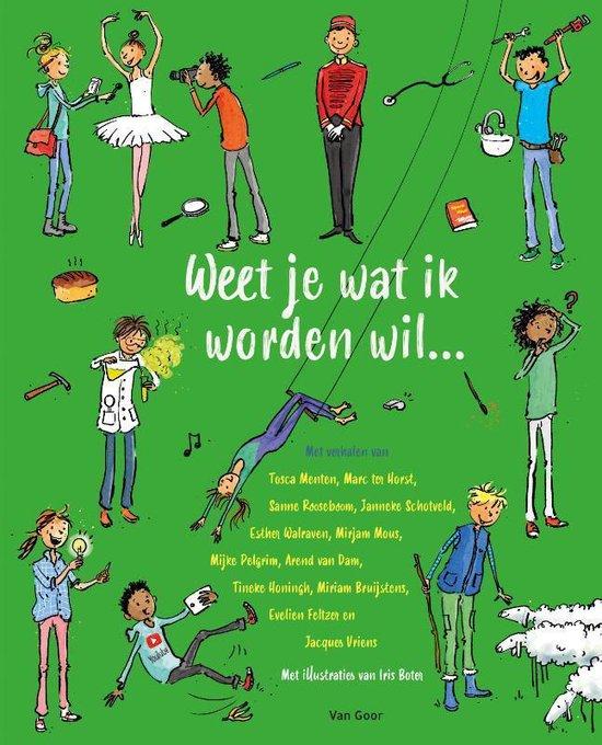 Kinderboekenweek 2021 Thematitels Weet je wat ik worden wil...