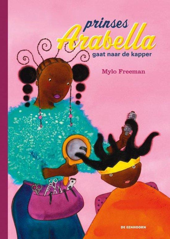 Kinderboekenweek 2021 Thematitel Prinses Arabella gaat naar de kapper