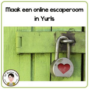 Maak een online escaperoom in Yurls