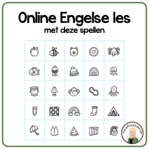 Online Engelse les met deze spellen