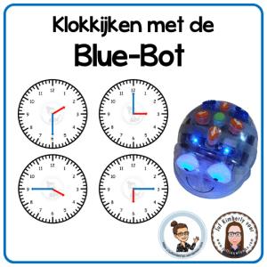 klokkijken met de Blue-Bot