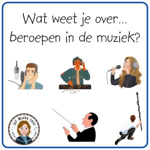 wat weet jij over beroepen in de muziek