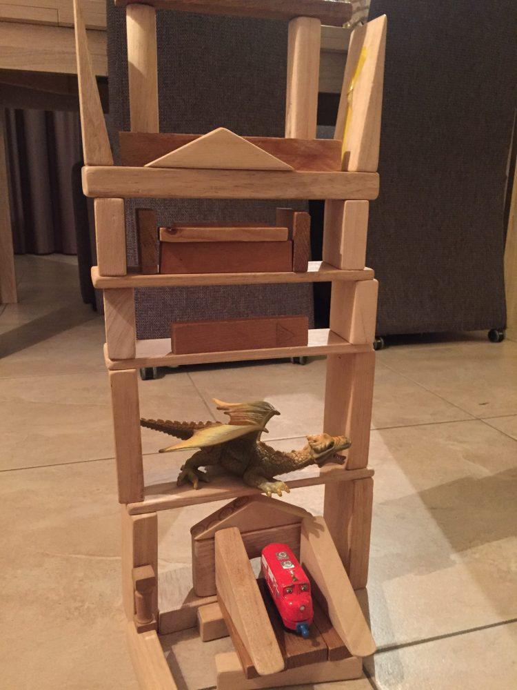 houten blokken