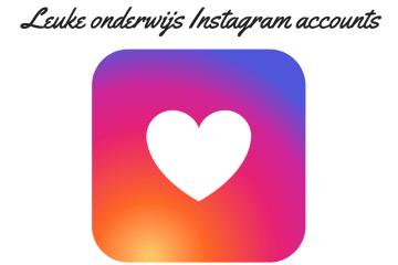 Leuke onderwijs Instagram accounts om te volgen