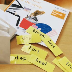 Ongekend 3 Lezen (groep 3) | Woordkaarten Lijn 3 – Juf Merel.com HW-54