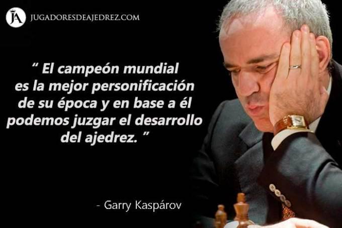 Frases de Garry Kaspárov