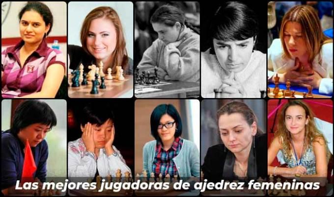 Las mejores jugadoras de ajedrez femeninas de todos los tiempos