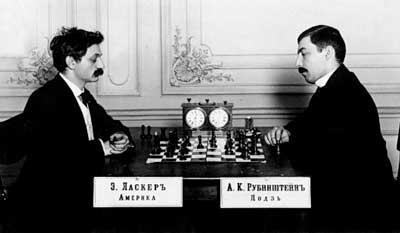 Emanuel-Lasker-vs-Akiba-Rubinstein