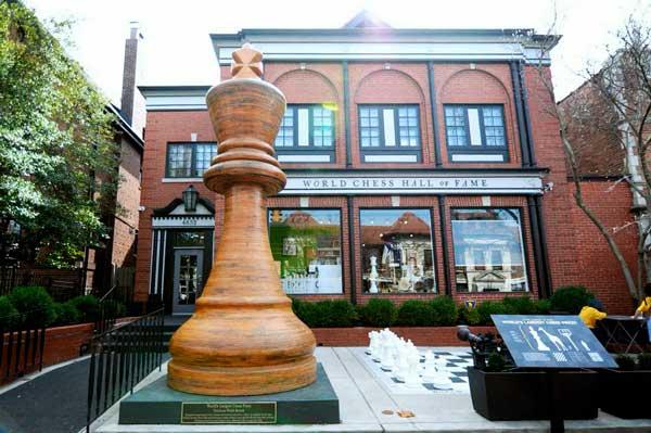 La pieza de ajedrez más grande del mundo