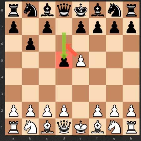 Cómo aprender a jugar al ajedrez - ejemplo-al-paso