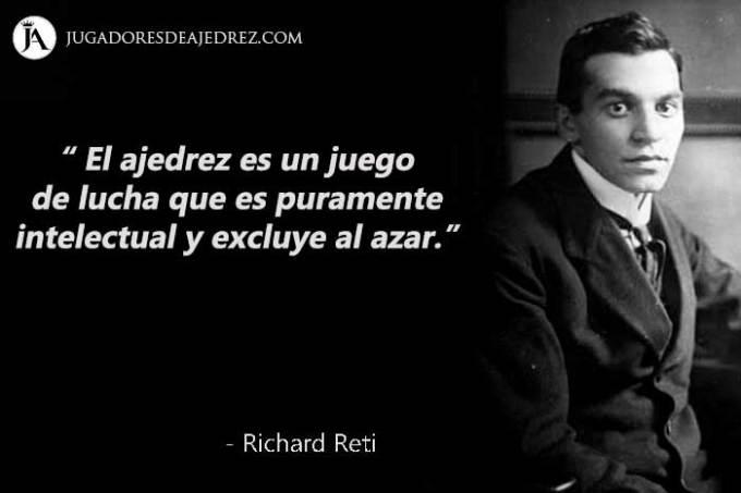 Frases de Richard Reti