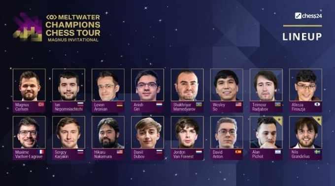 Magnus Carlsen Chess Tour 13-03-2021