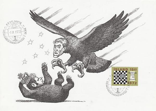 Spassky-Fischer 1972 una epopeya en los dibujos animados-Halldór Pétursson-16