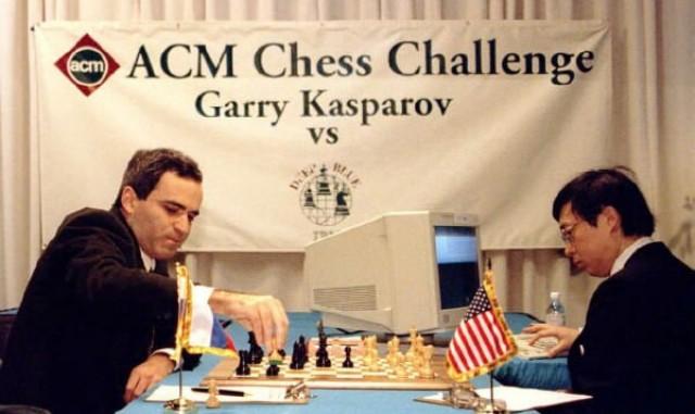 Deep Blue, el superordenador de IBM que en 1997 venció a Garry Kasparov