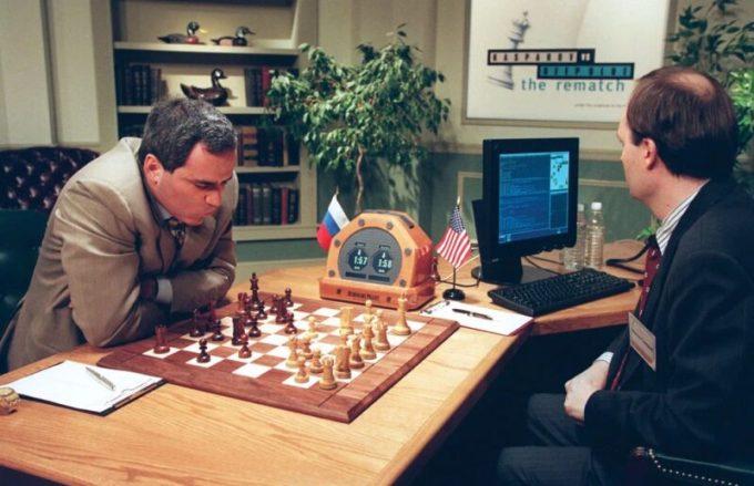 Deepblue-Kasparov
