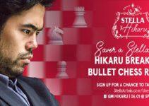 Hikaru Nakamura Intentará Batir el Récord de chess.com de más Partidas Ganadas en una Hora