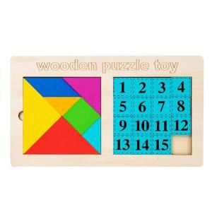 Tangram y Rompecabezas de Números