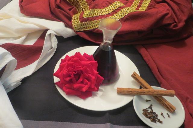 Resultado de imagen de vino de rosas romano