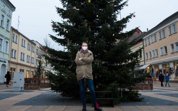 Friederike im Dezember in Luckenwalde