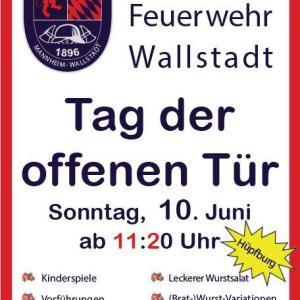 Tag der offenen Tür, Freiwillige Feuerwehr Mannheim Wallstadt