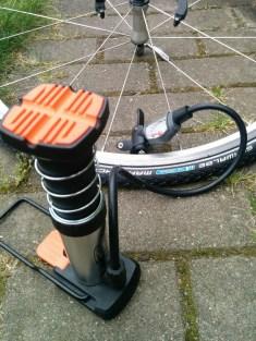 BikersDream.de, Mini Fußpumpe